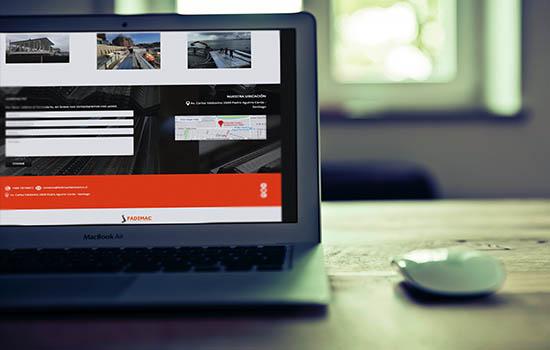 diseño web económico one page