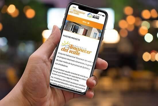 Sitios web adaptables a dispositivos móviles como smartphones y tablets